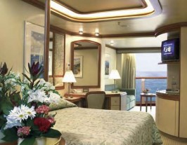 Princess Crown Princess cabin D325 -