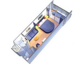 Royal Caribbean Explorer of the Seas cabin 6688 -