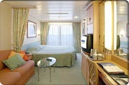 Royal Caribbean Adventure of the Seas cabin 6626 -