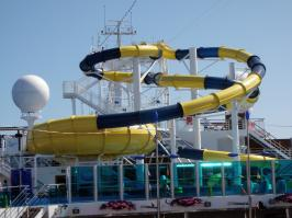 Carnival Dream - Pool Slide