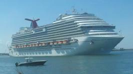 Carnival Dream - Leaving Port Canaveral