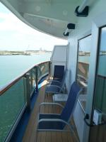 Carnival Dream cabin 6477 - Large Extended Balcony with Lounge Chair