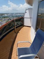 Carnival Dream cabin 6492 - Large Balcony and Chair
