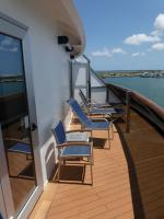 Carnival Dream cabin 6492 - Extended Balcony and Chairs