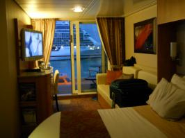 Celebrity Equinox cabin 6257 - Room and view