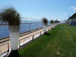 Celebrity Solstice - grass deck