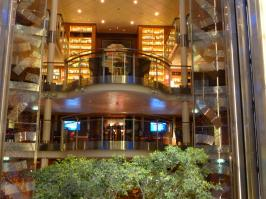Celebrity Solstice - library