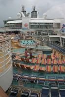 Royal Caribbean Oasis of the Seas - Pool Deck