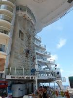 Royal Caribbean Oasis of the Seas - Rock Climbing Wall