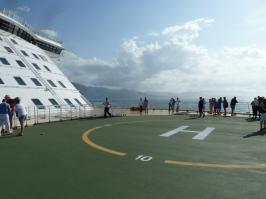 Royal Caribbean Oasis of the Seas - Helipad