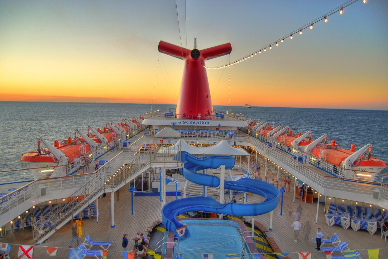 Carnival Sensation Reviews Photos And Information